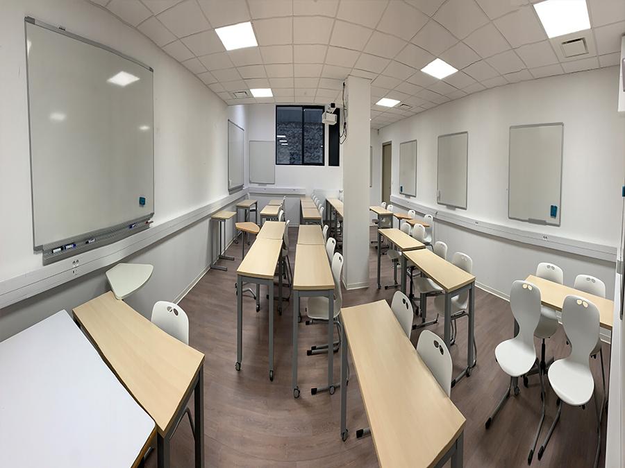 Salles de cours classiques